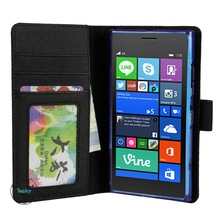 for nokia lumia 730 wallet case leather phone wallet cover case for nokia lumia 730, china manufacturer