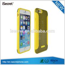iSecret Smart design clear hard back protective tpu phone case for iphone 6