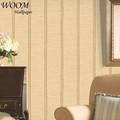 Esteira de bambu design não- tecido estilo coreano wallpaper design