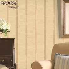bamboo mat design Non-woven korean style design wallpaper