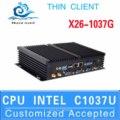 2015 novo terminal virtual tamanho pequeno pc cpu de entrada de áudio x26-1037g c1037u 2 suporte lan usb3.0
