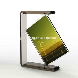 Transparent Rotate Acrylic Photo Frame