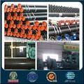 219mm api 5l gr. B erw fabricante de erw preto revestimento e tubo de linha de tubo de aço