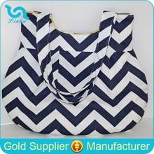 New Navy Blue Chevron Women Handbag Design Shoulder Bag Stylish Woman Shoulder Bag
