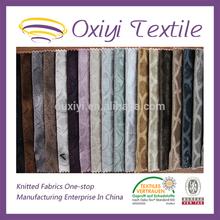 cheap wholesale manufacturers jacquard elastic fabric chenille jacquard sofa fabric