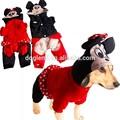 Inverno Pet Dog Clothes Mickey Mouse C-0289 frete grátis desconto global Jumpsuit vestuário