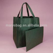 HEAVY DUTY NONWOVEN SHOPPING BAG with bottom insert