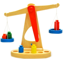 Wooden Balance Scale Toy