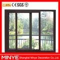China de alta calidad de aluminio puerta corredera con doble cristal/10 años de experiencias de aluminio para puertas de los precios externos