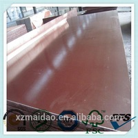 high quality density of marine plywood film faced shuttering plywood