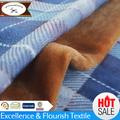 Ym-0292 de la moda de algodón de felpa manta para colchas/cubrecamas