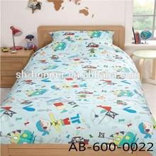 Cute Cartoon Boys Sea Rover Printed Comforter Set For Child