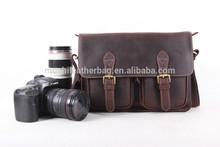 100% Genuine Leather DSLR Camera Case