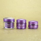 Clear Empty Cosmetics Care Containers Plastic Jar For Cream