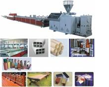 PVC WPC PE foam profile production line