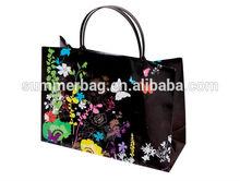 pp bag with logo pattern;Various Kids gifts Packaging bag to girls women denim shopping bags