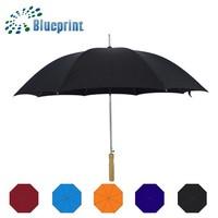 Black Sun Work Water Repellent Metal Umbrella Straight Size Of Umbrella
