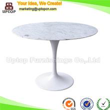 (SP-GT356) Noble oval dining carrara marble eero saarinen tulip table