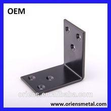 4 holes metal furniture corner bracket/corner brace for wood
