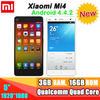 Original mobile phone china supplier quad core mobilephone 5inch IPS 1920*1080 xiaomi mi 4 mobile 3GB+16GB unlocked mobile phone