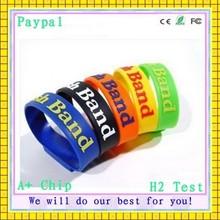 high quality hot selling sports bracelet pen usb flash drive
