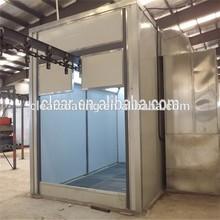 electrostatic powder coating plant with automatic hanging rail brand china maunfucurer