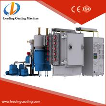 pvd vacuum chrome plating machine / nickel metal coating machine manufacturer