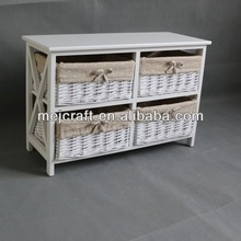 solid wood living room furniture modern wicker small table wholesale