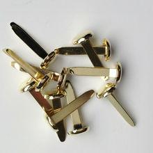 golden 29mm iron round brad nails/metal paper fastener