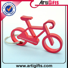 Wholesale cheap 4 colors option led bottle opener keychain can print your logo