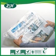 wholesale promotional custom plastic newspaper carrier bags