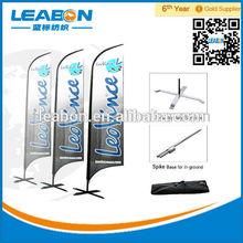 Cheap Manufactory Aluminum Feather flagpole