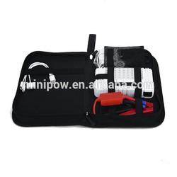 Guangzhou auto parts multi-function jump starter emergency tool kit