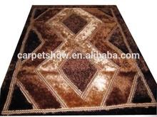 polyester 3d shaggy carpet