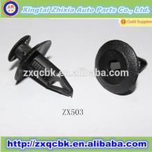 lot Black Nylon Car Auto Fastener Bumper Clip Rivet Push Retainer Screw Fender Push-type Retainer