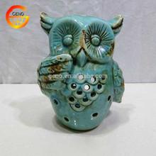 Regional de funciones jardín búho de cerámica para la venta