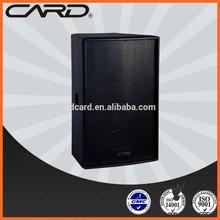 CARD 2 way fullrange fixed installing 8ohms 250W woofer professional speakers