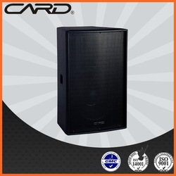 CARD 2 way fullrange fixed installing 8ohms 250W woofer professional speakers