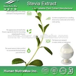 Herbal Extract-Natural Sweetener Stevia Leaf P.E. Total Steviol Glycosides 90% In Bulk CAS 57817-89-7