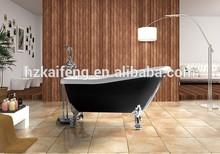 Antique Black Acrylic Bathtub with Legs