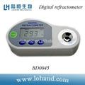la calidad del agua instrumento de prueba de índice de refracción medida refractómetro digital brix