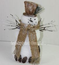 Christmas snowman decoration/foam made snowman/lovely snowman ornament