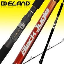 Deland 2 Sections Casting Fishing Tackle/Carbon Fiber and Japan Fuji Parts Fishing Rod-BJC