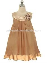 new design toddler girl chiffon dress 2-3y