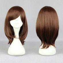 Wolf Girl & Black Prince-erika shinohara New Arrival 40cm Dark Brown Cosplay Wig