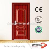 China manufacture interior steel wooden doors