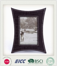2014 hot sale high quality new products unique design home decoration handmade felt leather photo frame made in China