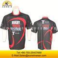 Haga propio con estilo rugby camisetas / sin mangas camisetas de rugby para azul