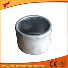 Best price customized sintered polished aluminum melting crucible