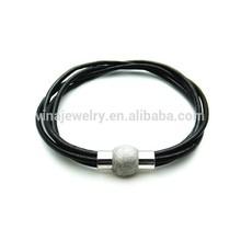 2015 VINA023 latest deisgn hand knitted rope bracelet catholic wristband